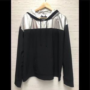 Victoria Sport Reflective Running jacket large NWT
